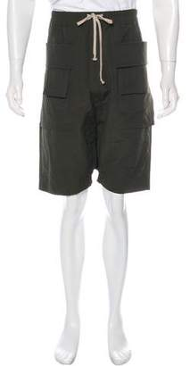 Rick Owens 2018 Utility Drop Crotch Pod Shorts