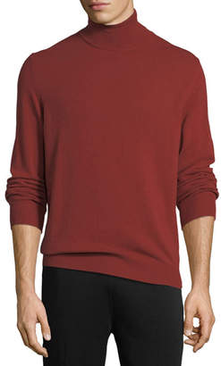 Z Zegna Wool-Cashmere Turtleneck Sweater