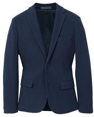 Mango man MANGO MAN Herringbone-pattern cotton blazer