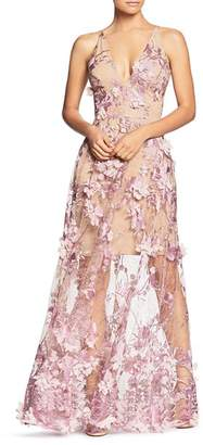 Dress the Population Sidney Embellished Lace Gown