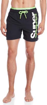 Superdry Logo State Volley Swim Shorts