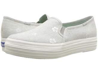 Keds Triple Decker Hibiscus Women's Slip on Shoes