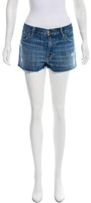 Current/Elliott Mid-Rise Denim Shorts