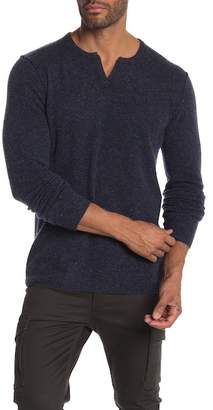 Autumn Cashmere Notch Collar Cashmere Sweater