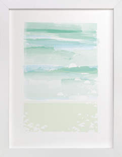 out to sea. Art Print