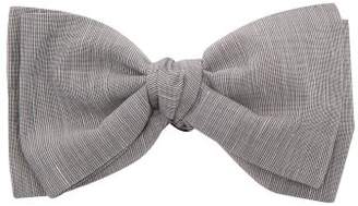 Comme Les Loups - Wolfgang Cotton Bow Tie - Mens - Grey