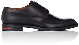 Givenchy Men's Leather Plain-Toe Bluchers - Black