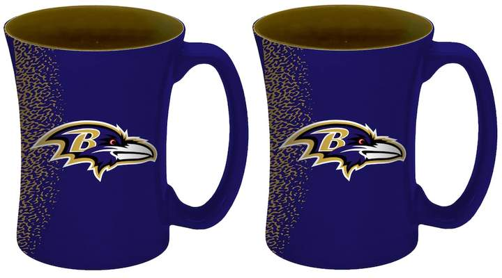 Boelter Baltimore Ravens Mocha Coffee Mug Set
