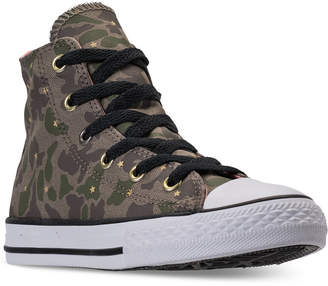 Converse Little Girls' Chuck Taylor All Star Hi Casual Sneakers from Finish Line
