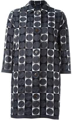 Minä Perhonen circles print shirt