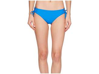 Ella Moss Shiny Spice Lace-Up Bikini Bottom Women's Swimwear