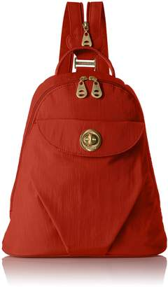 Baggallini Dallas Backpack and Convertible Sling Gold Hardware with Lightweight Nylon