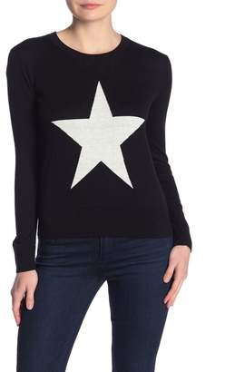 French Connection Star Long Sleeve Sweater