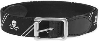 Polo Ralph Lauren Skull Motif Icon Belt