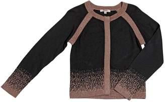 Junior Gaultier Gradient Cotton Viscose & Lurex Cardigan