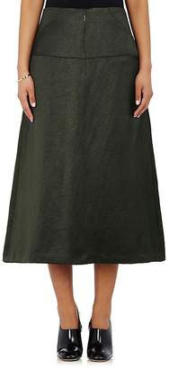 Zero Maria Cornejo WOMEN'S SATIN DROP-WAIST SKIRT