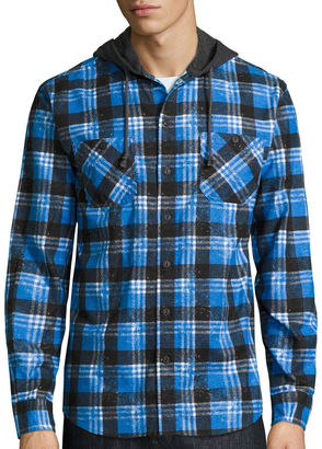 Union Bay Long-Sleeve Hayward Flannel Hoodie $44 thestylecure.com