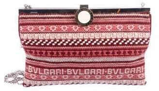 Bvlgari Knitted Shoulder Bag