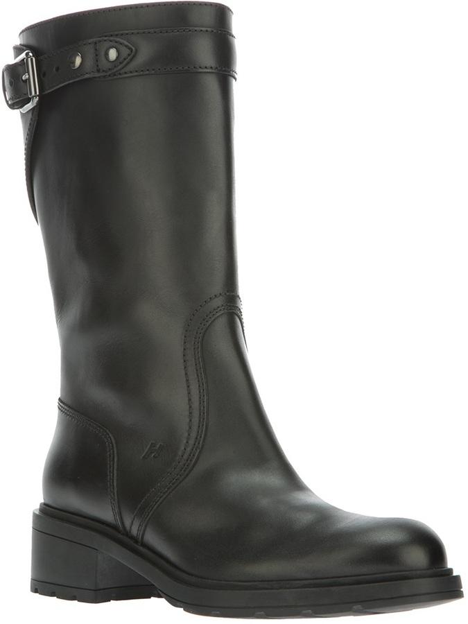 Hogan low-heeled boot