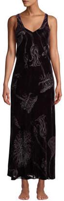 Christine Lingerie Faberge Velvet Nightgown