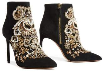 Alice + Olivia Cheb Embellished Bootie