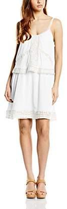 Gat Rimon Women's Short Sleeve Dress - White