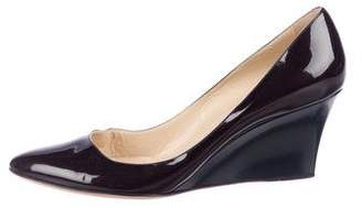 Jimmy Choo Wedge Patent Leather Pumps