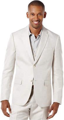 Perry Ellis Men's Big and Tall Linen Blend Suit Jacket $185 thestylecure.com