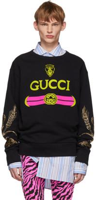 Gucci Black Beaded Sweatshirt