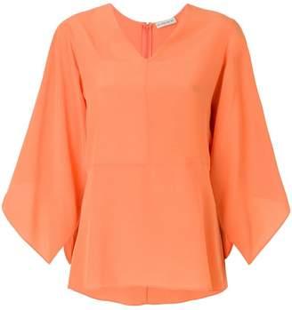 Etro draped shift blouse