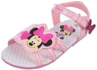 "Disney Minnie Mouse Girls' ""Bow Strap"" Sandals - , 12 toddler"