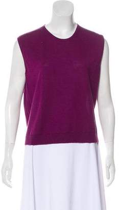 Burberry Wool Sleeveless Top