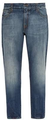 Moncler 7 Fragment - Slim Fit Denim Jeans - Mens - Blue