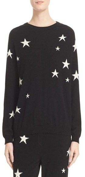 Chinti And ParkerWomen's Chinti And Parker Star Knit Cashmere Sweater