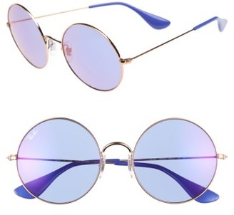 Women's Ray-Ban The Ja-Jo 55Mm Round Sunglasses - Copper $165 thestylecure.com