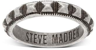 Steve Madden Studded Textured Band Ring - Size 10