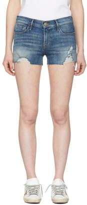 Frame Blue Le Cutoff Denim Shorts