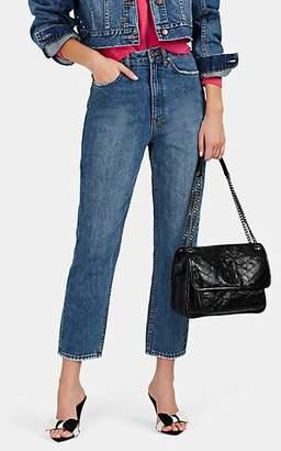 Ksubi Women's Chlo Wasted High-Rise Skinny Jeans - Blue