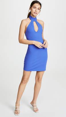 Susana Monaco Open Front Halter Dress