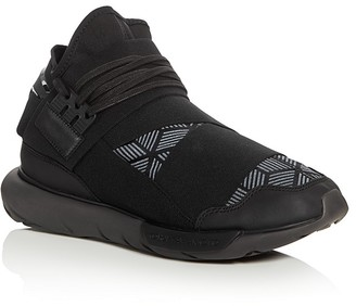 Y-3 Qasa High Top Sneakers $390 thestylecure.com