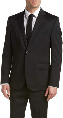 Kenneth Cole New York Wool-Blend Suit With Flat Front Pant