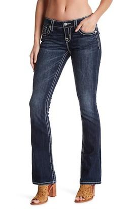 MISS ME Flap Pocket Boot Cut Jean $89.50 thestylecure.com