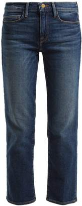 Frame Le Nouveau straight-leg cotton-blend jeans