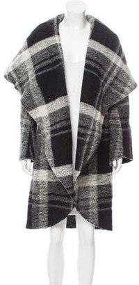 Norma Kamali Oversize Wool Coat