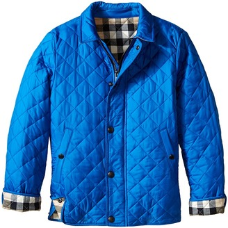 Burberry Kids - Luke Jacket Kid's Coat $225 thestylecure.com