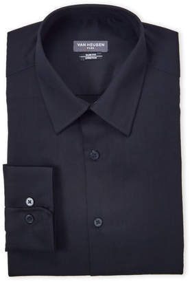Van Heusen Black Stretch Slim Fit Dress Shirt