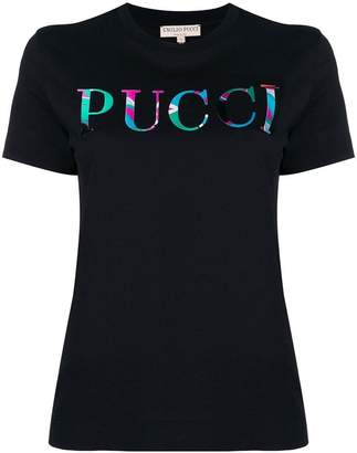 Emilio Pucci front logo T-shirt