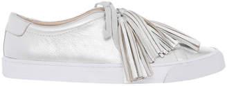 Loeffler Randall Logan Silver Sneaker