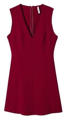 MANGO V-neckline dress