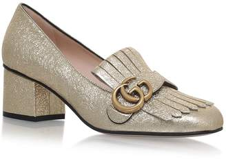 Gucci Fringed Marmont Pumps 55